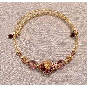 🌟5/$25🌟 Vintage Purple Marbled Bracelet